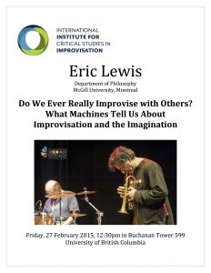 Do We Ever Really Improvise with Others? Poster